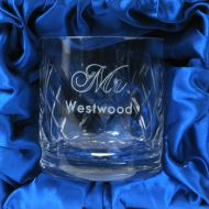Engraved Whisky Glass for Him