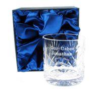 Usher Whisky Glass