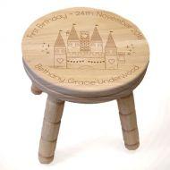 Magic Castle Wooden Stool