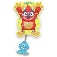Monster Pendulum Clock for Boy or Girl