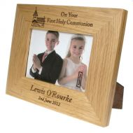 Solid Oak First Communion Frame: Church Design