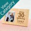 Personalised Birthday Photoframes
