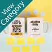 Personalised Mugs for the Wedding Party