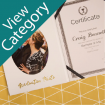 Personalised Graduation Certificate Holders