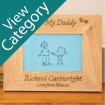 Personalised Oak Frames