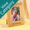 Laser Engraved Oak Photo Frames for Pets