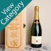Personalised Graduation Champagne Boxes