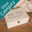 Luxury Wedding Keepsake Boxes